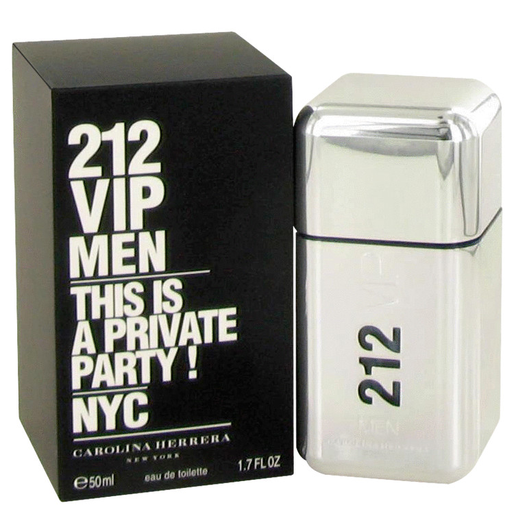 Carolina Herrera 212 VIP Men Eau de Toilette 50ml Spray – SoLippy 768a4825e3