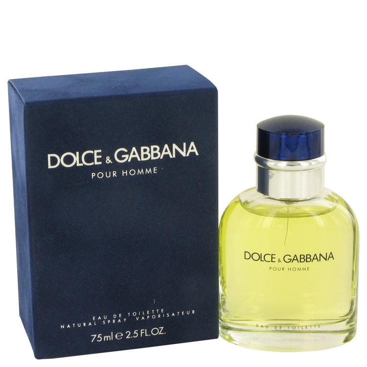 new style 47a22 bb606 Dolce & Gabbana Pour Homme Eau De Toilette 75ml EDT Spray
