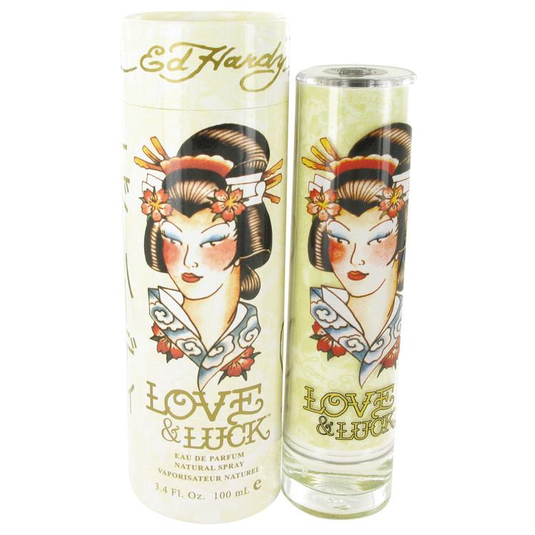 Ed Hardy Love Luck By Christian Audigier Eau De Parfum Women S Spray Perfume: Ed Hardy Love & Luck Eau De Parfum 100ml EDP Spray
