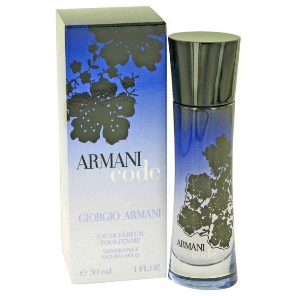 Giorgio Armani Code Eau De Parfum 30ml Edp Spray Solippy