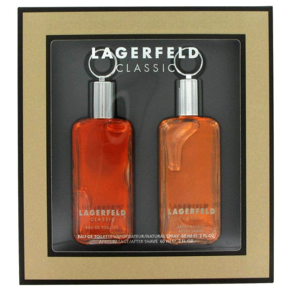Karl Lagerfeld Lagerfeld Classic Gift Set 60ml EDT 60ml Aftershave
