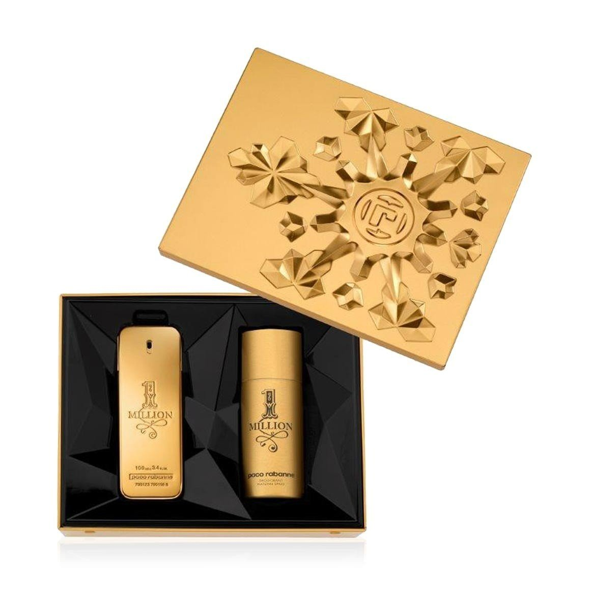 aad6722fa4982 Paco Rabanne 1 Million Gift Set 100ml EDT + 150ml Deo Spray – SoLippy