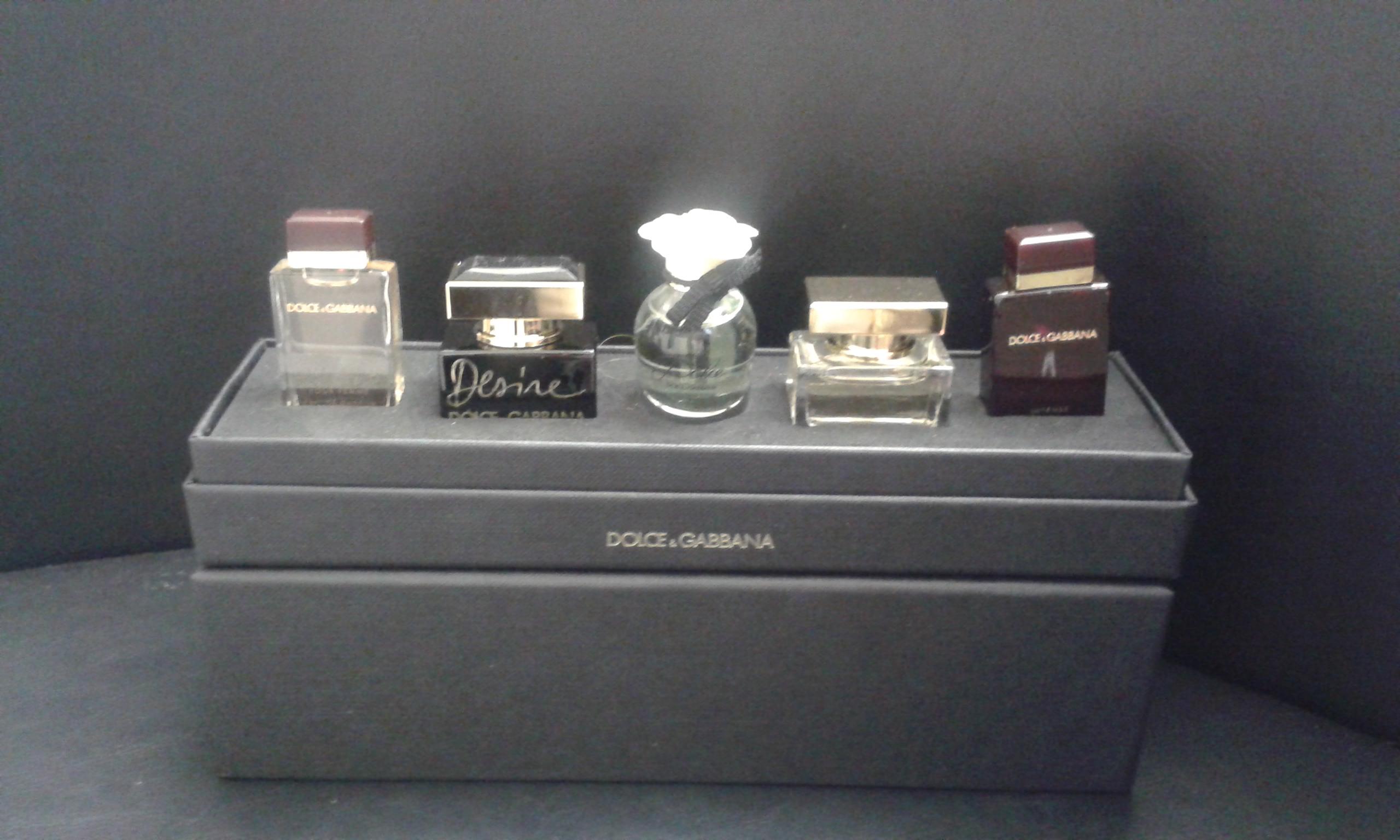 Gucci 5 Piece Mini Variety Ladies Gift Set Solippy