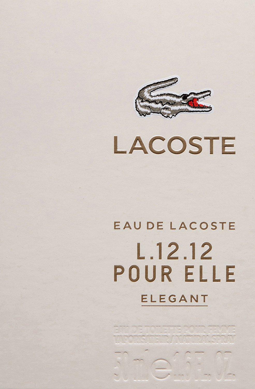 Lacoste Eau de Lacoste L.12.12 Pour Elle Elegant EDT 30ml Spray ... 6a44b835ee763