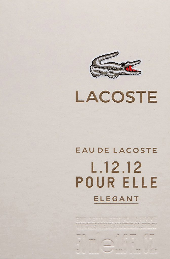 Lacoste Eau de Lacoste L.12.12 Pour Elle Elegant EDT 50ml Spray