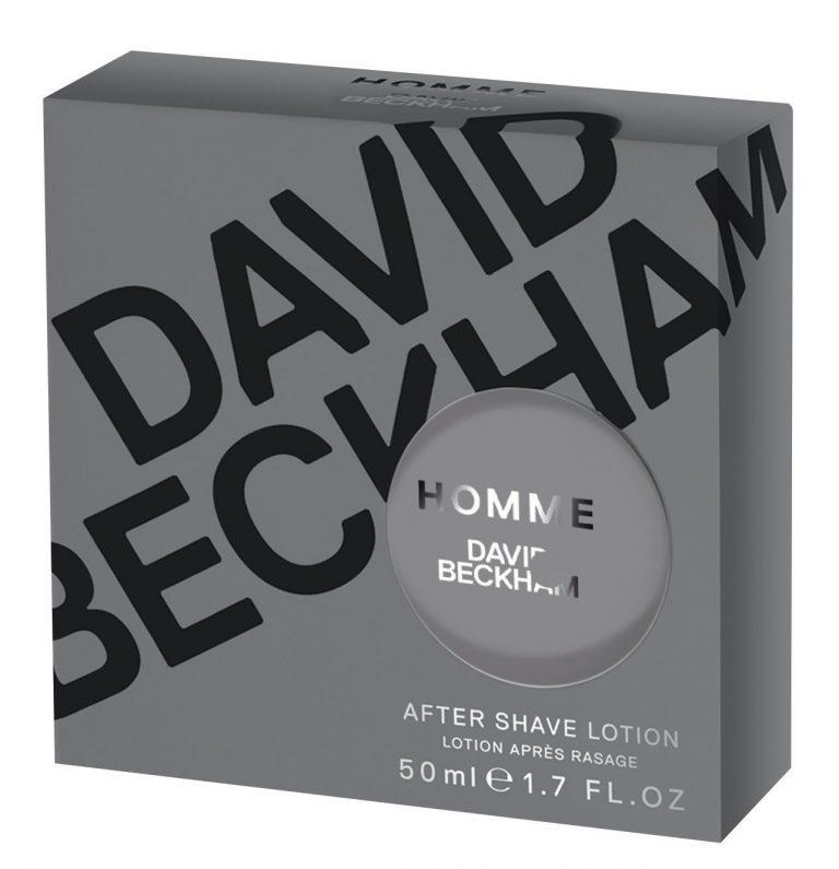 David Beckham Homme Aftershave Lotion 50ml Splash