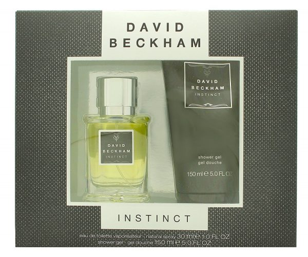 David Beckham Instinct Gift Set 30ml EDT 150ml Shower Gel
