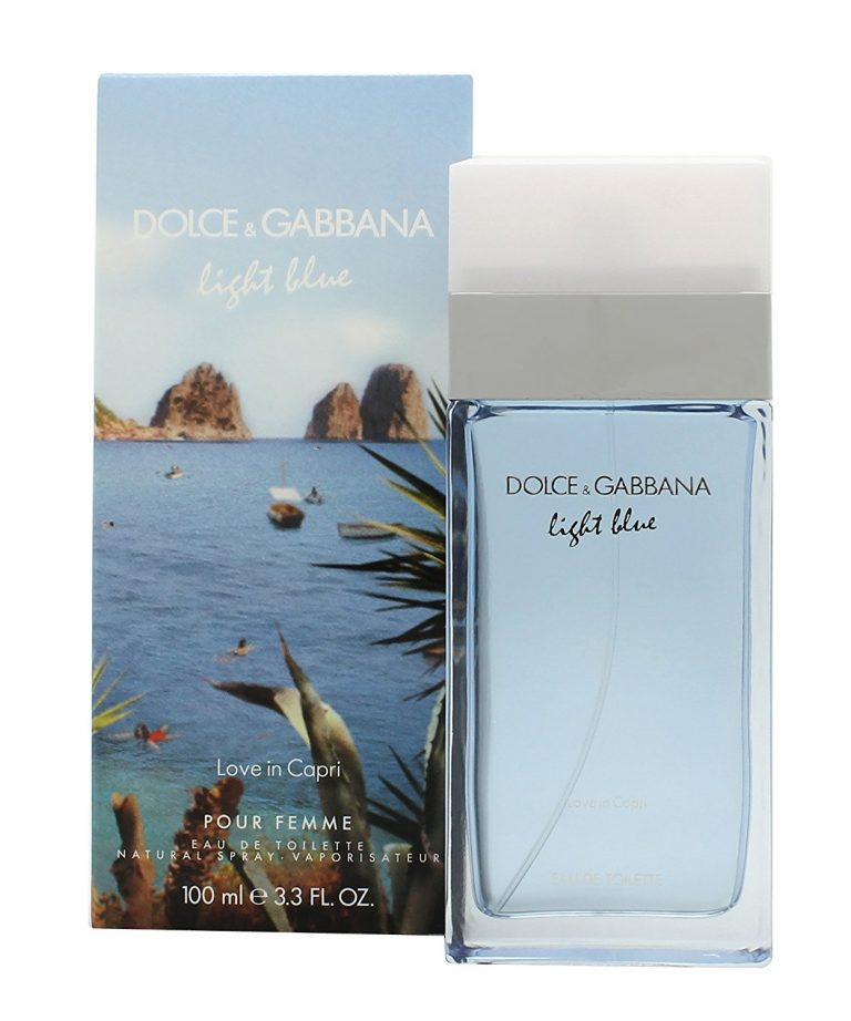 Dolce Gabbana Light Blue Love in Capri 1 1