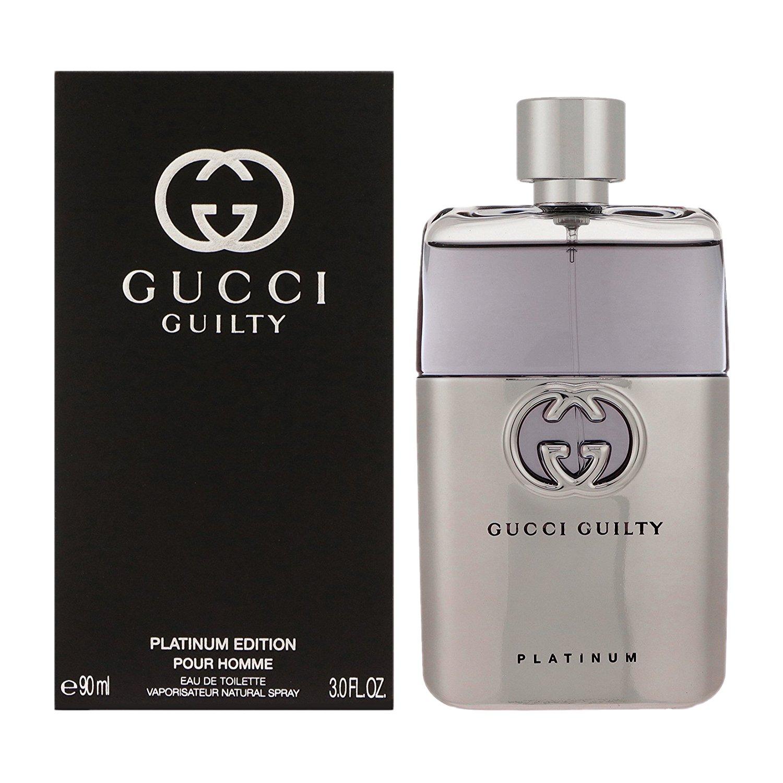 Gucci Gucci Guilty Pour Homme Platinum Eau De Toilette 90ml Edt