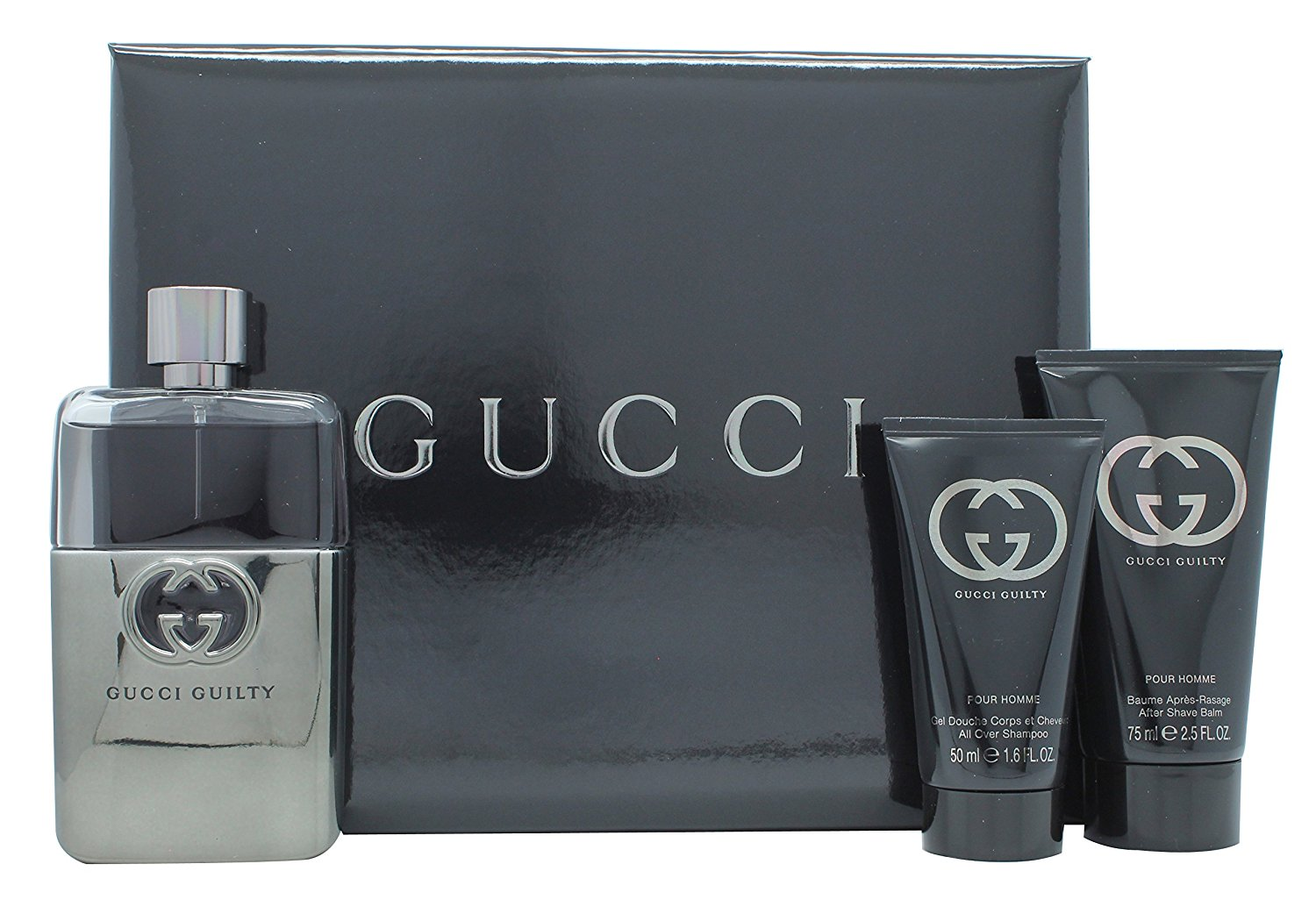 3c722e80f47 Gucci Guilty Pour Homme Gift Set Travel Collection 90ml EDT + 50ml A ...