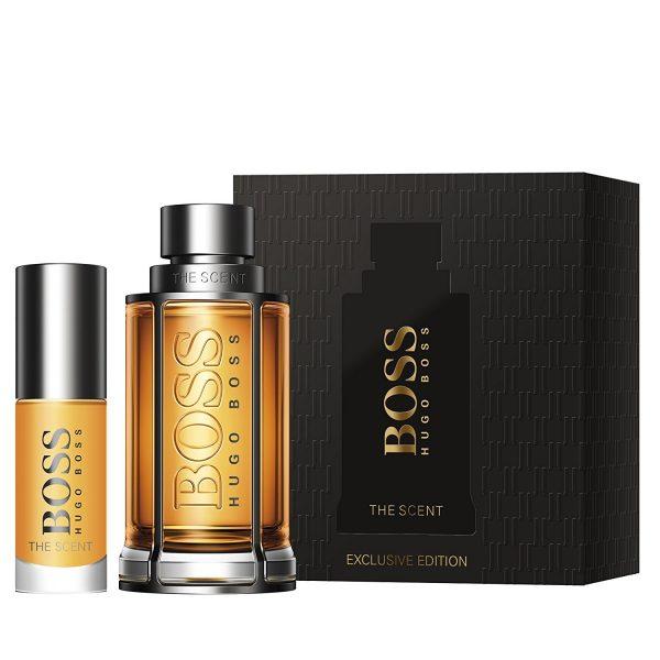 Hugo Boss Boss The Scent Gift Set 100ml EDT Spray 100ml Shower Gelset