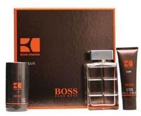 Hugo Boss Orange Man Gift Set 100ml EDT 75ml Deodorant Stick 50ml Shower Gel
