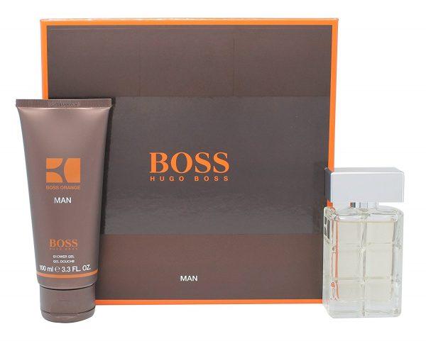 Hugo Boss Orange Man Gift Set 40ml EDT 100ml Shower Gel