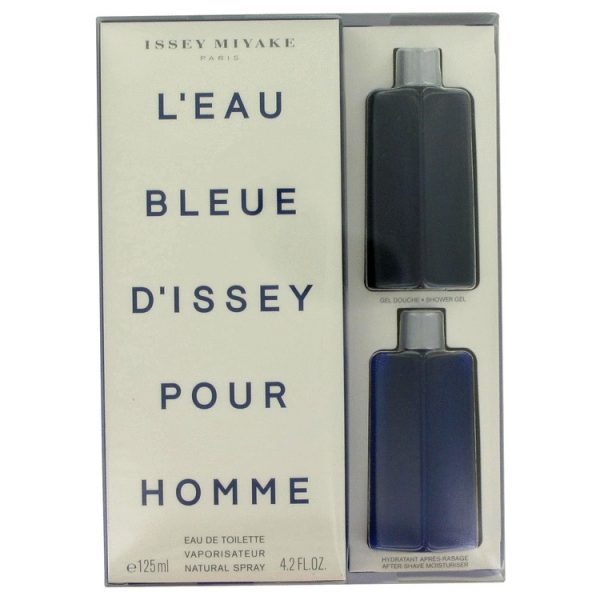 Issey Miyake LEau dIssey Pour Homme Gift Set 125ml EDT 75ml Shower Gel 50ml Aftershave Balm