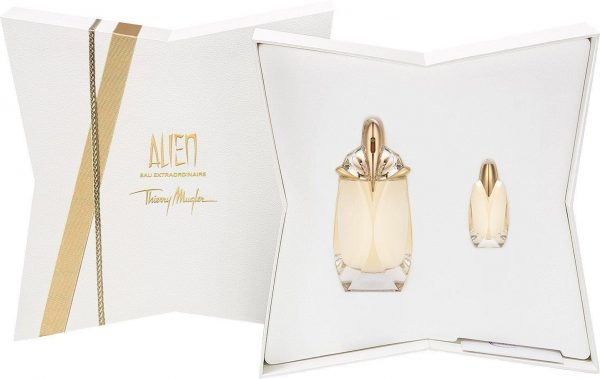 Thierry Mugler Alien Eau Extraordinaire Gift Set 60ml EDT Refillable 6ml EDT
