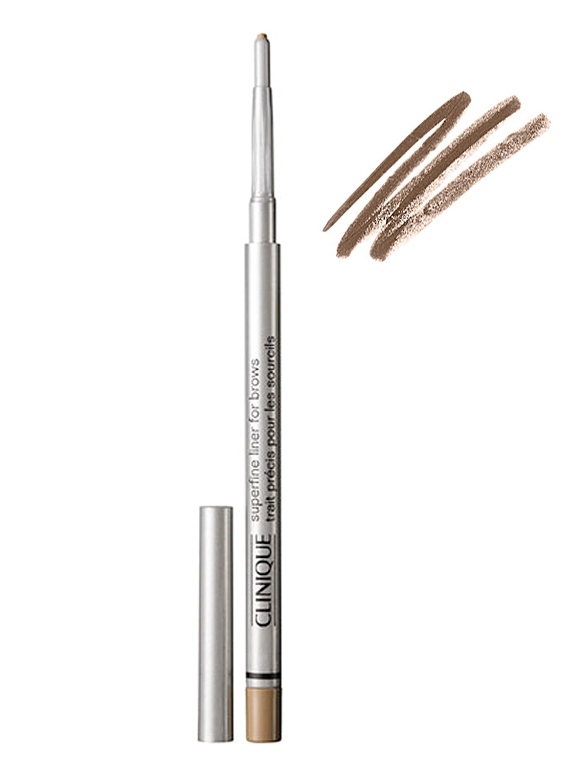 Clinique Superfine Liner For Brows Eyebrow Pencil 12g 02 Deep