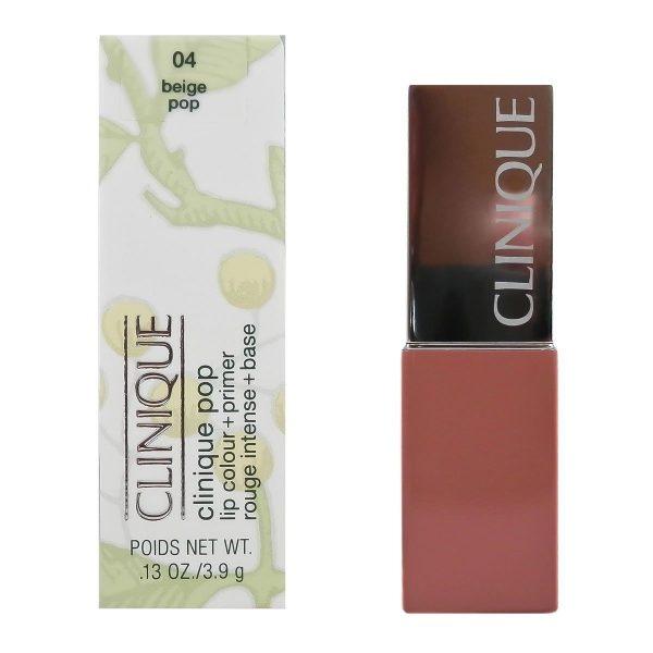 Clinique Pop Lip Colour and Primer 3.9g 04 Beige Pop