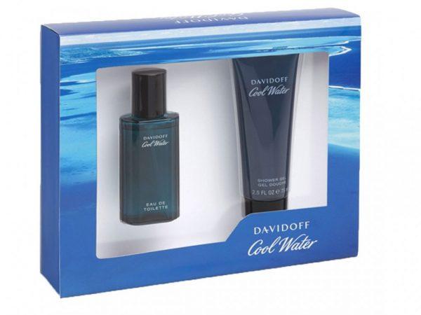Davidoff Cool Water Gift Set 40ml EDT 75ml Shower Gel