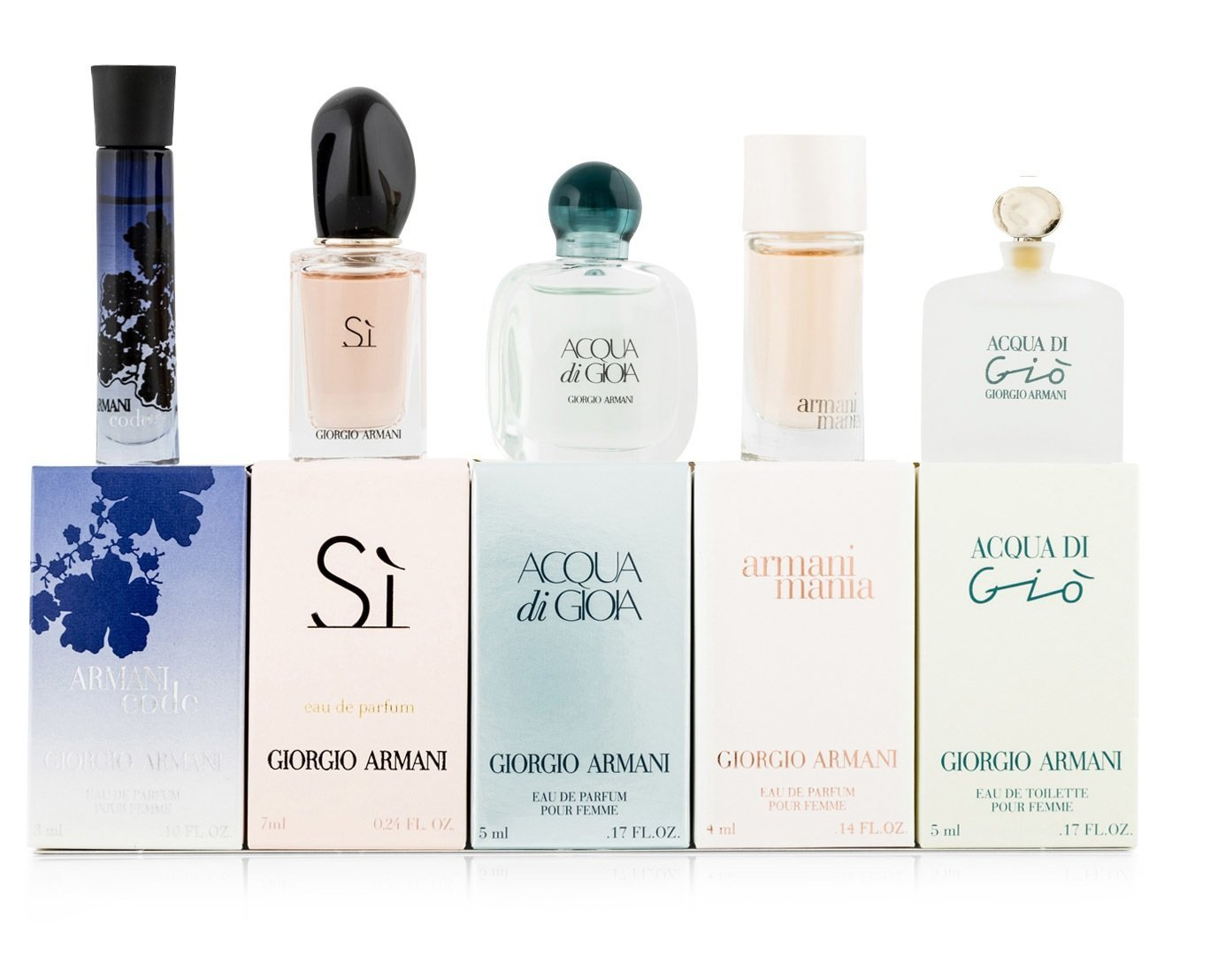 Giorgio Armani Miniatures Gift Set 3ml Armani Code Edp 7ml Si Edp