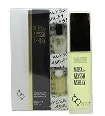 Alyssa Ashley Musk Gift Set 50ml EDT 5ml Musk Perfume Oil 5ml White Musk Perfume Oil