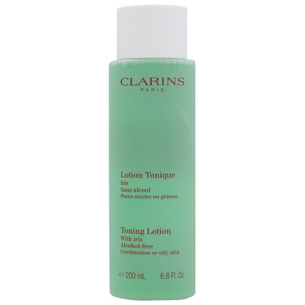 Clarins Cleansers and Toners Toning Lotion with Iris Combination Oily Skin 200ml