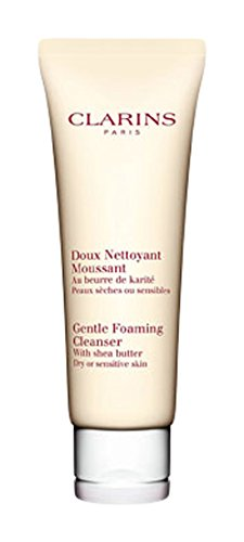 Clarins Skincare Gentle Foaming Cleanser with Shea Butter Dry Sensitive Skin 125ml