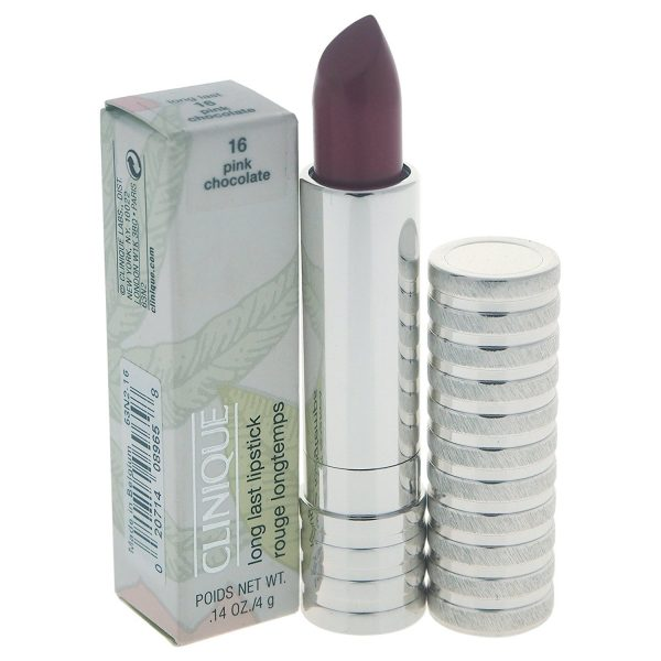 Clinique Long Last Lipstick 4g Pink Chocolate