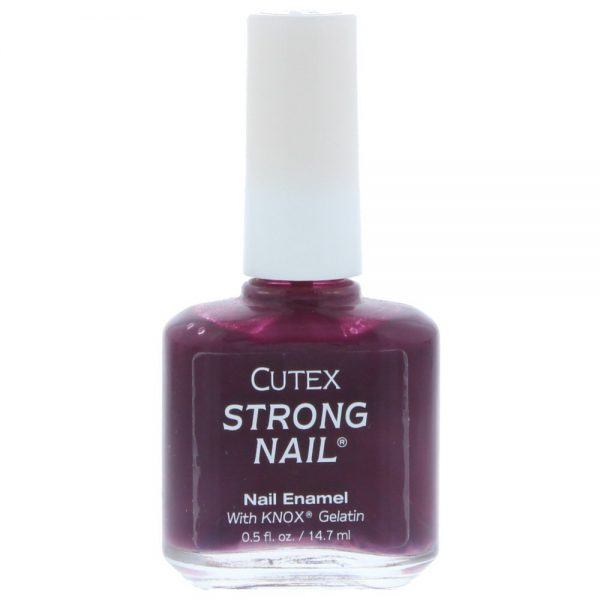 Cutex Strong Nail Enamel 14.7ml Eggplant