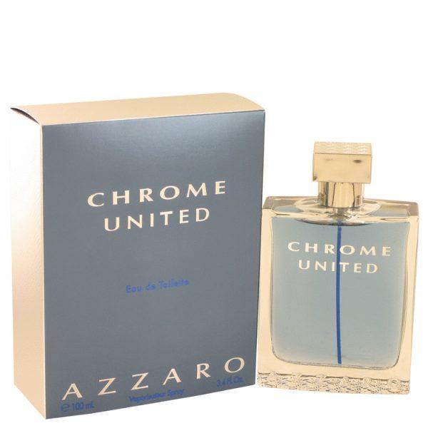 Azzaro Chrome United Eau de Toilette 100ml EDT Spray
