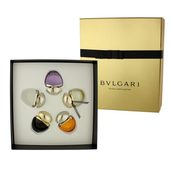 Bvlgari The Jewel Charm Collection Gift Set 5 x 25ml Omnia Amethyste EDT Mon Jasmin Noir EDP Indian Garnet EDT Jasmin Noir EDP Omnia Crystalline EDT