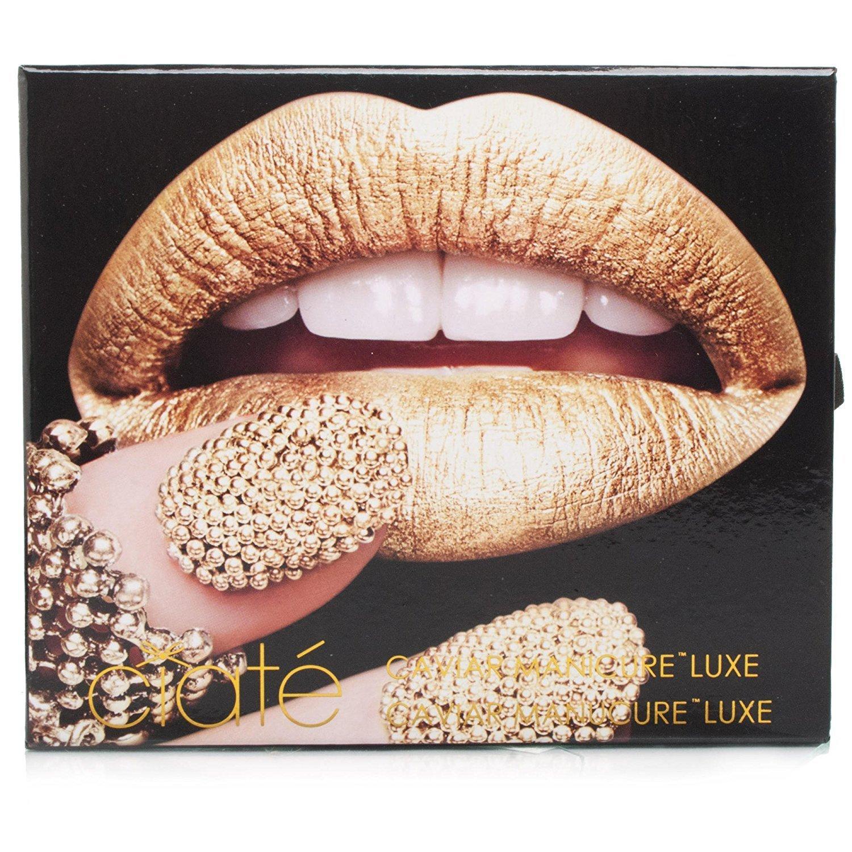 Ciate Caviar Nails: Ciate Caviar Manicure Luxe Lustre Gold Gift Set 13.5ml