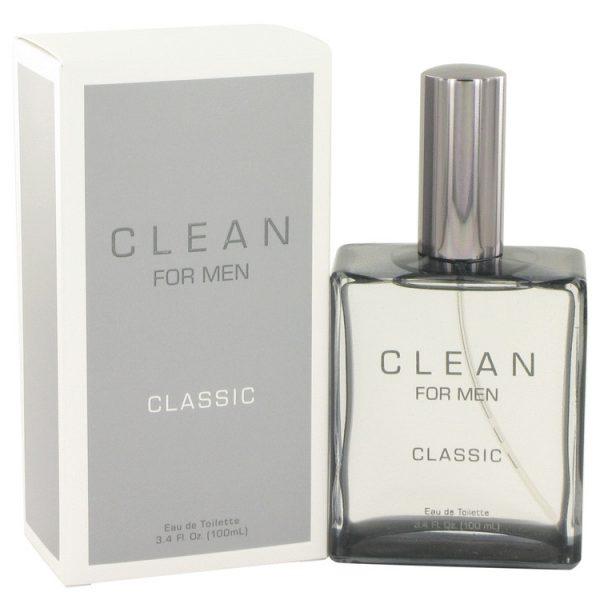 Clean For Men Classic Eau de Toilette 100ml EDT Spray