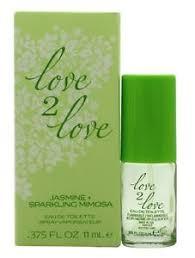 Love2Love Jasmine Sparkling Mimosa Eau de Toilette 11ml Spray