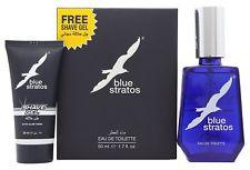 Parfums Bleu Limited Blue Stratos Gift Set 50ml EDT 25ml Shave Gel