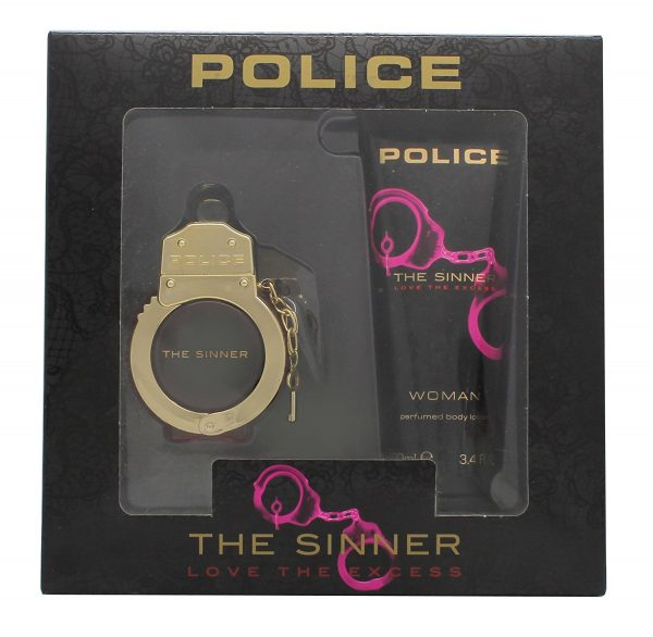 Police The Sinner Gift Set 30ml EDT 100ml Body Lotion