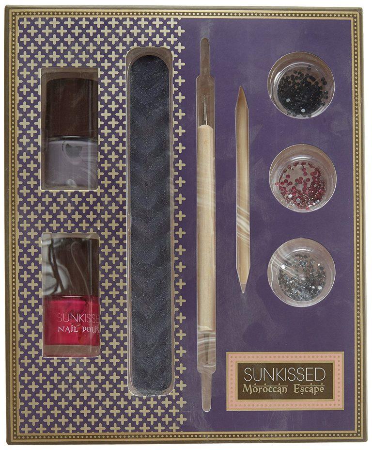 SUNkissed Nail Artisan Kit Gift Set 8 Pieces
