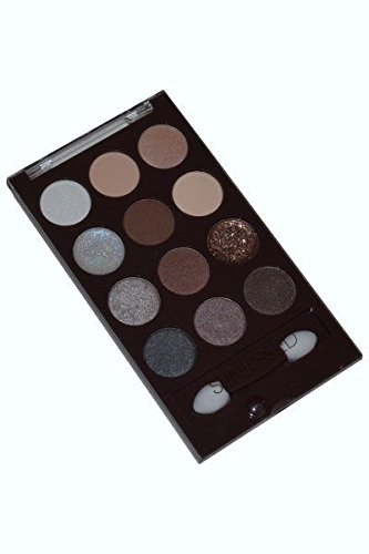 SUNkissed Ready For Anything Eye Palette 12 Eye Shadows