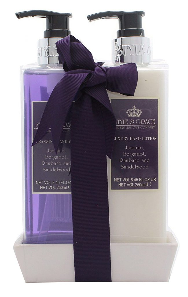 Style Grace Luxury Handcare Gift Set 250ml Hand Wash 250ml Hand Lotion