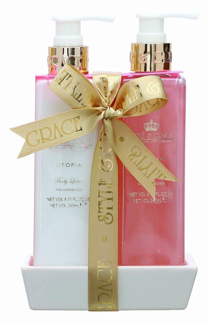 Style Grace Utopia Bathroom Collection Luxury Handcare Gift Set