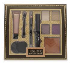 Sunkissed Moroccan Escape Exotic Gaze Gift Set 4 x 2.5g Eyeshadows 6.5ml Mascara 0.6g Eye Pencil 8ml Primer 8.5g Bronzer 2 x Applicators