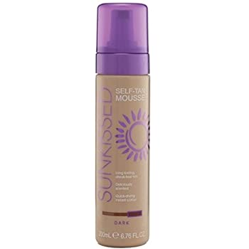 Sunkissed Self Tanning Mousse 200ml Dark
