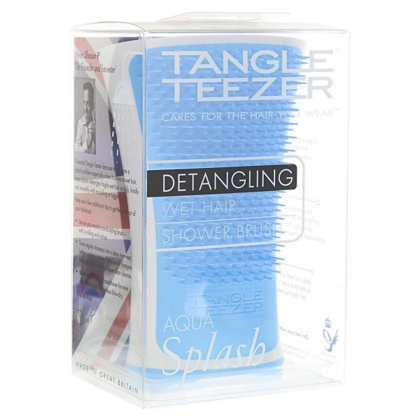 Tangle Teezer Aqua Splash Detangling Hair Brush – Blue Lagoon