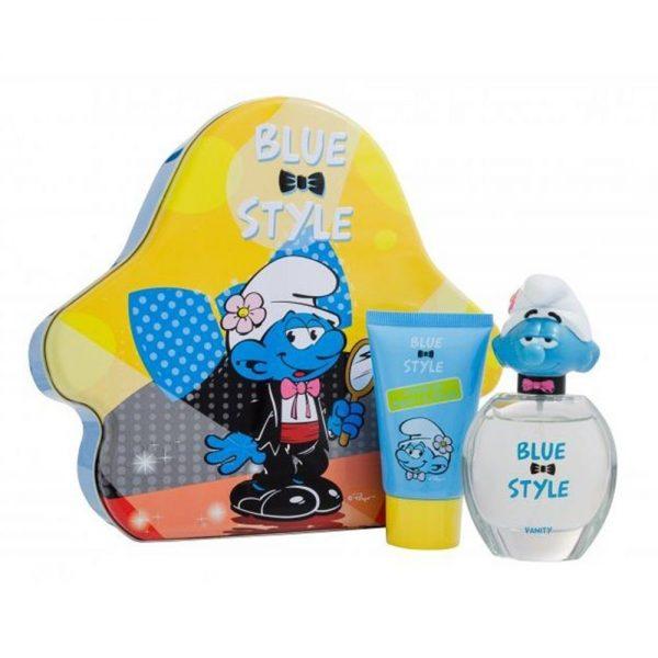 The Smurfs Vanity Gift Set 50ml EDT 75ml Showergel
