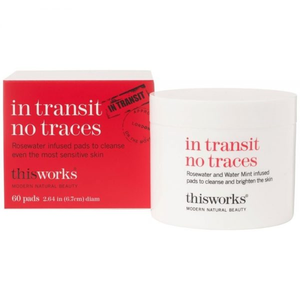 This Works In Transit No Traces 60 Cleansing Pads
