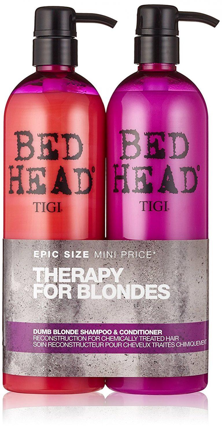 Tigi Duo Pack Bed Head Dumb Blonde 750ml Shampoo 750ml Conditioner