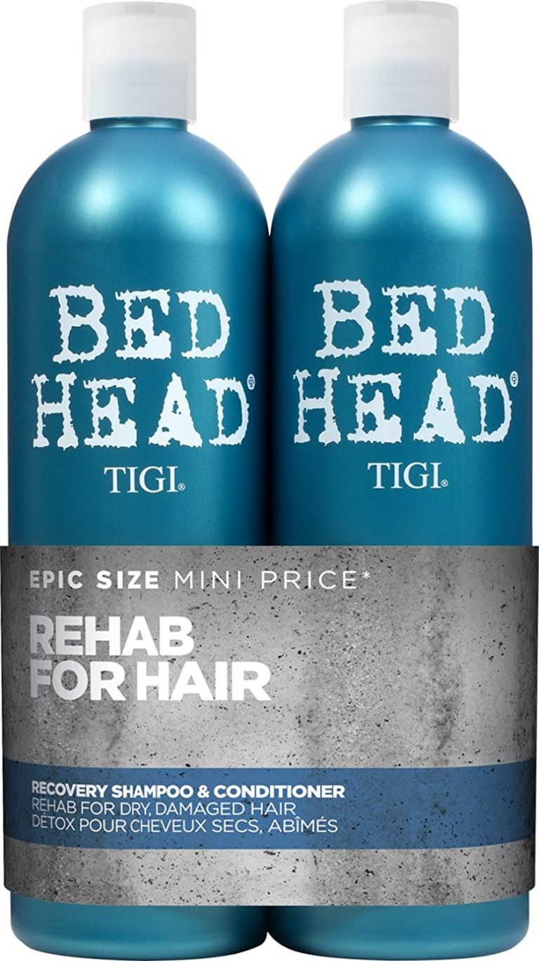 Tigi Duo Pack Bed Head Urban Antidotes Recovery 750ml Shampoo 750ml Conditioner