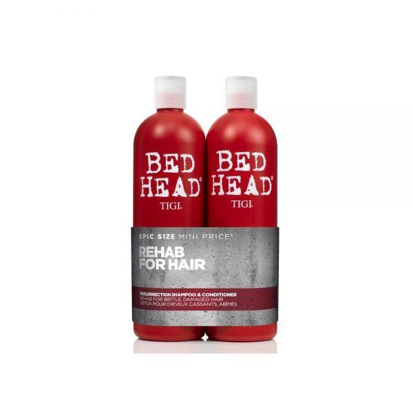 Tigi Duo Pack Bed Head Urban Antidotes Resurrection 750ml Shampoo 750ml Conditioner