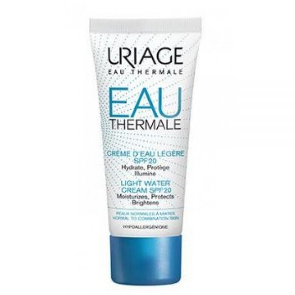 Uriage Eau Thermale Light Water Cream 40ml – Normal to Combination Skin