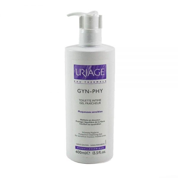 Uriage Gyn Phy Intimate Hygiene Protective Cleansing Gel 400ml