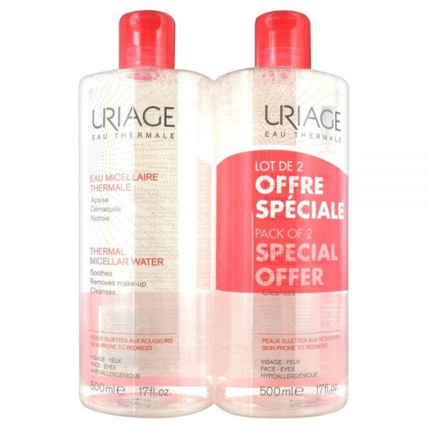 Uriage Micellar Water Duo 2 x 500ml – Sensitive Skin